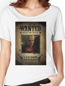 Buffy Spike Wanted 2 Women's Relaxed Fit T-Shirt
