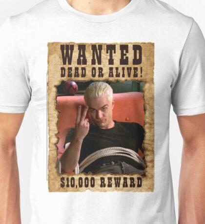 Buffy Spike Wanted 3 Unisex T-Shirt
