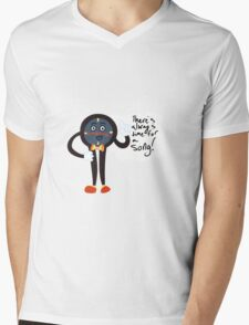 There's always time for a song! Mens V-Neck T-Shirt