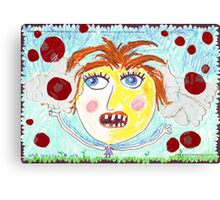 My Sister and the Wrong Tomatoes Canvas Print