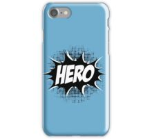 Hero, Comic, Superhero, Super, Winner, Superheroes, Chef, Boss iPhone Case/Skin