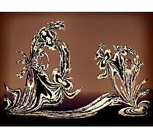 Sculpture in Bronze Photographic Print