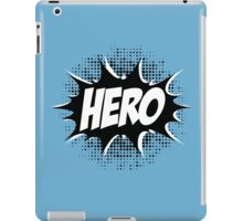 Hero, Comic, Superhero, Super, Winner, Superheroes, Chef, Boss iPad Case/Skin