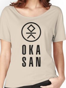 cool and fashionable Okasan T-shirt Women's Relaxed Fit T-Shirt