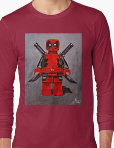 Lego D,Pool Long Sleeve T-Shirt