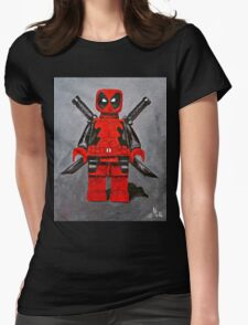 Lego D,Pool Womens Fitted T-Shirt