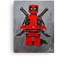 Lego D,Pool Canvas Print