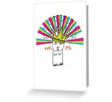 Royal Bunny Greeting Card