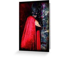 Darkly Vamp Greeting Card