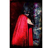 Darkly Vamp Photographic Print