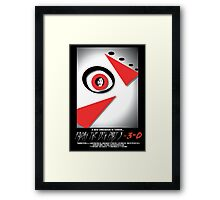 Friday The 13th Part 3  Framed Print