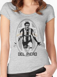 Alessandro Del Piero Women's Fitted Scoop T-Shirt