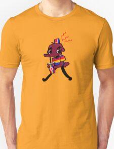 Weiner Dawg! (yellow) Unisex T-Shirt