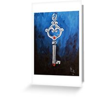 Key to your Heart Greeting Card