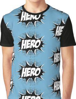 Hero, Comic, Superhero, Super, Winner, Superheroes, Chef, Boss Graphic T-Shirt