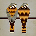 Kestrels by Scott Partridge