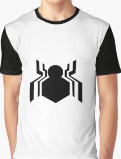 Tom Holland Spider-man Logo Graphic T-Shirt