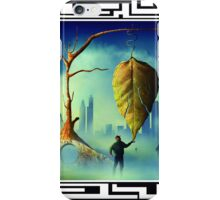 A Folha Seca. iPhone Case/Skin