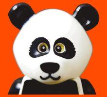 Cute Lego Panda Guy Kids Tee