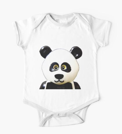 Cute Lego Panda Guy One Piece - Short Sleeve