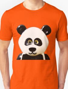 Cute Lego Panda Guy Unisex T-Shirt