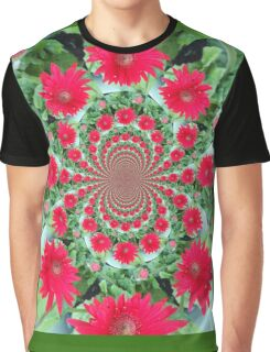 Daisy Flower Graphic T-Shirt