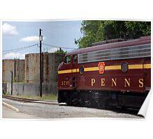 Pennsylvania Railroad E8 Locomotive Poster
