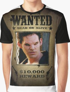 Buffy Xander Wanted 1 Graphic T-Shirt