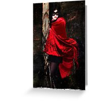 Vamp in the Dark Greeting Card