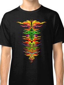 Color your life! Rainbow, Music, Trance, Techno, Rave, Goa, Holi Festival Classic T-Shirt