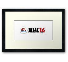 NHL 14 Framed Print