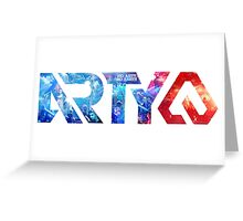ARTY No Arty No Party Greeting Card