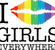 i kiss girls everywhere by chromatosis