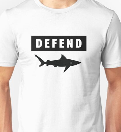 Defend sharks Unisex T-Shirt
