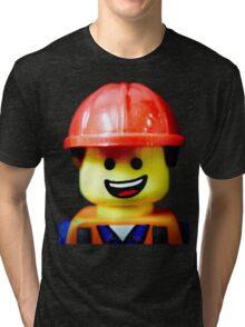 Hard Hat Emmet Tri-blend T-Shirt
