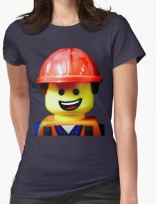 Hard Hat Emmet Womens Fitted T-Shirt