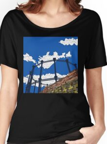 Regent's Canal Gas Tower Women's Relaxed Fit T-Shirt