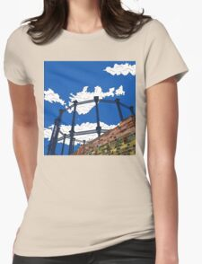 Regent's Canal Gas Tower Womens Fitted T-Shirt