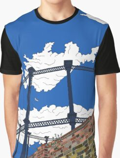 Regent's Canal Gas Tower Graphic T-Shirt