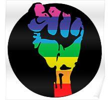 pride fist Poster