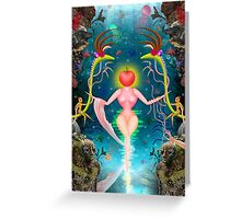 Mother Nature/Evolution Design Greeting Card