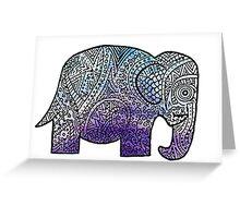 Elephant Design Greeting Card