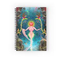 Mother Nature/Evolution Design Spiral Notebook