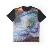 Watercolor Universe Graphic T-Shirt