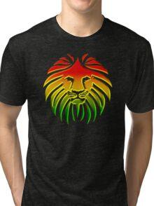 Like a Lion, Reggae, Rastafari, Africa, Jah, Jamaica,  Tri-blend T-Shirt