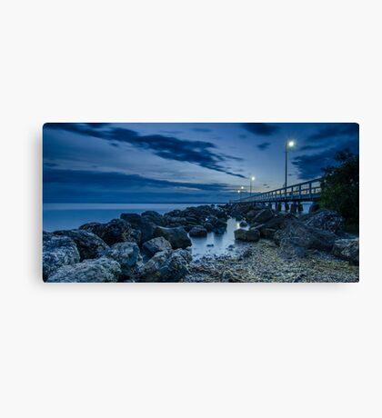 Sunrise at Wellington Point Jetty, Queensland, Australia Canvas Print