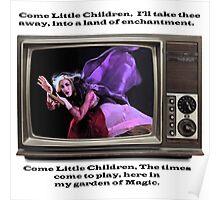 Hocus Pocus Come Little Children Sarah Jessica Parker Poster