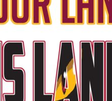 'The Land' is Your Land Sticker