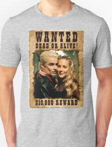 Buffy Spike Harmony Wanted Unisex T-Shirt