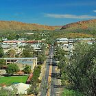 Alice Springs from the Lookout by Penny Smith